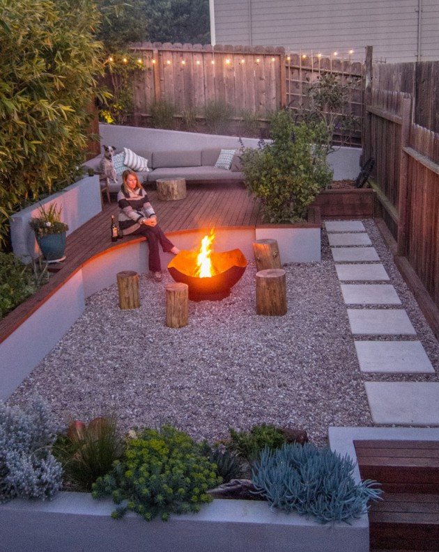Best ideas about Modern Backyard Ideas . Save or Pin 16 Captivating Modern Landscape Designs For A Modern Backyard Now.