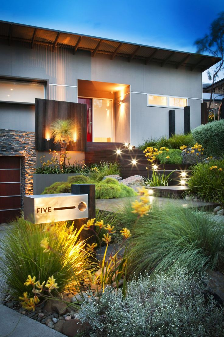Best ideas about Modern Backyard Ideas . Save or Pin 50 Modern Front Yard Designs and Ideas — RenoGuide Now.