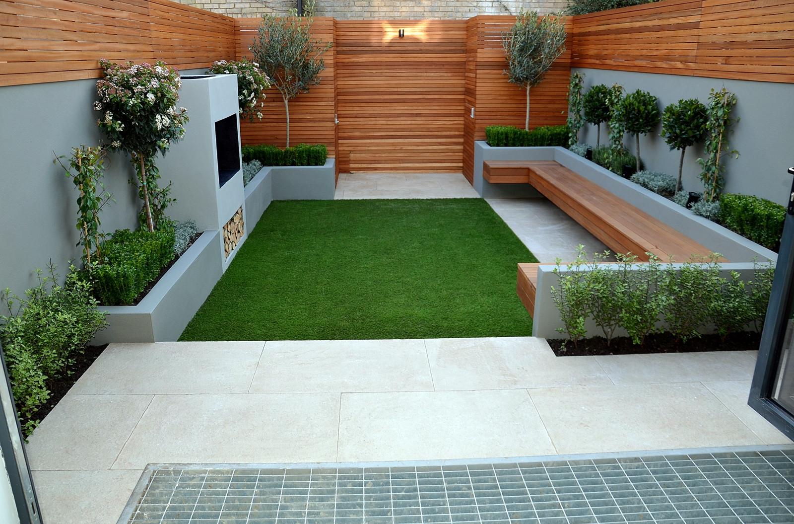 Best ideas about Modern Backyard Ideas . Save or Pin contemporary modern small garden designer anewgarden Now.