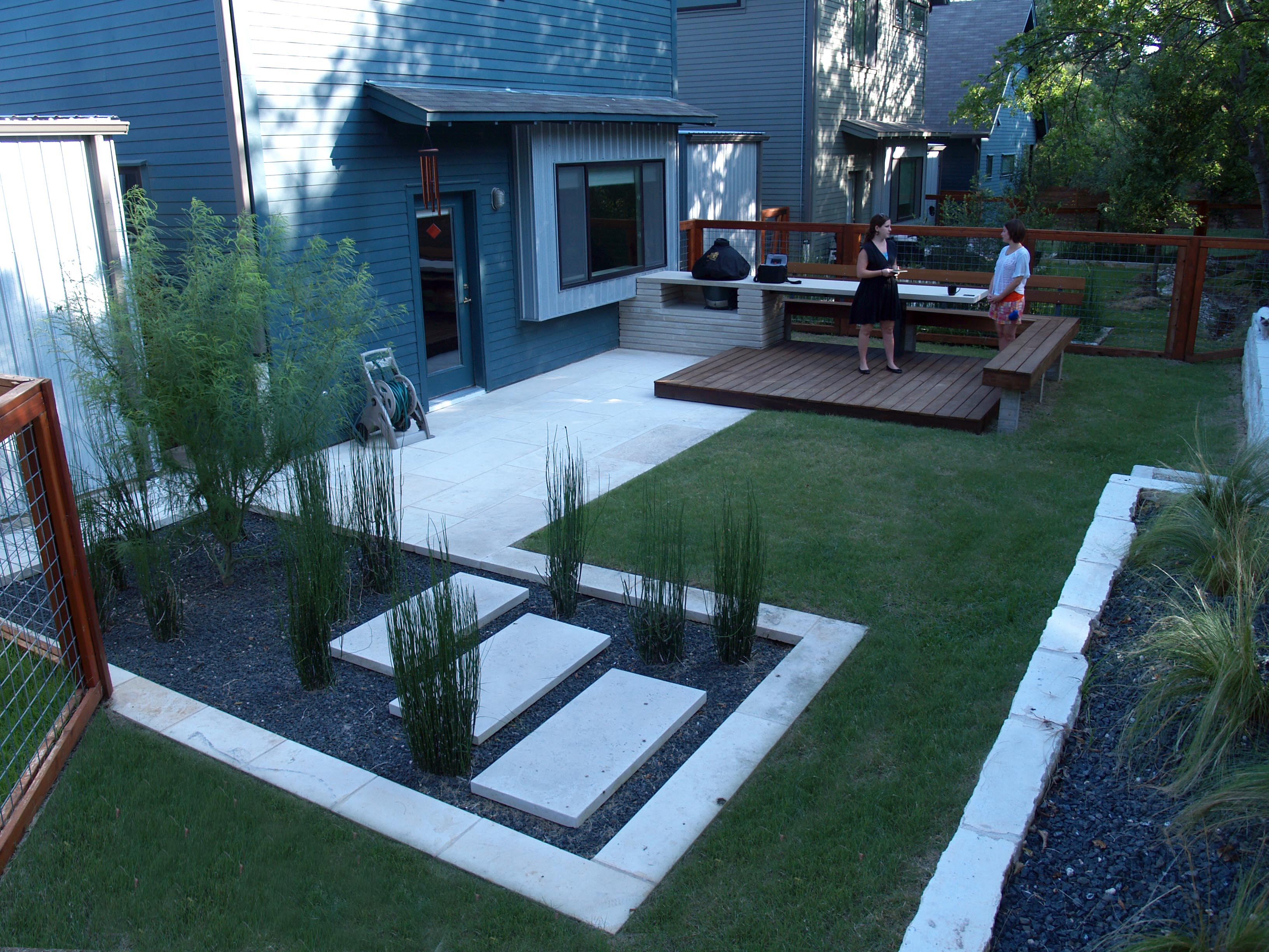 Best ideas about Modern Backyard Ideas . Save or Pin modern small backyard design with kitchen dining and Now.