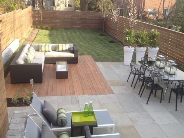 Best ideas about Modern Backyard Ideas . Save or Pin 19 Divine Contemporary Backyard Designs Now.