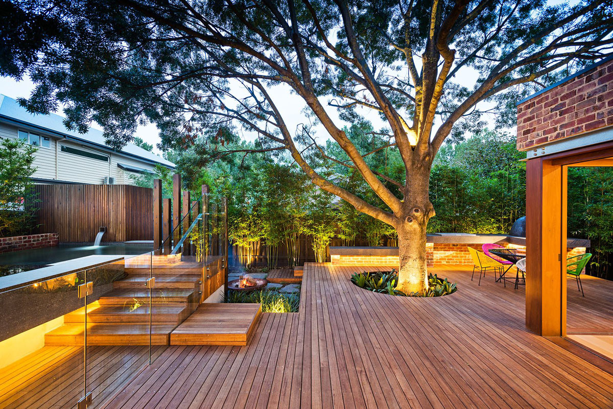 Best ideas about Modern Backyard Ideas . Save or Pin Family Fun Modern Backyard Design for Outdoor Experiences Now.