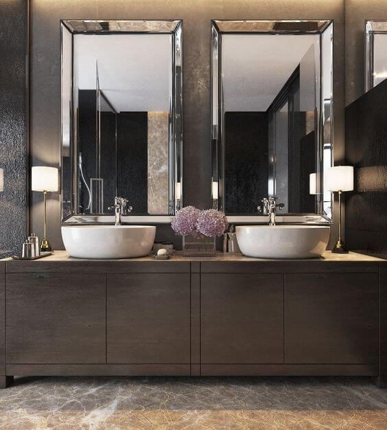 Best ideas about Modern Bathroom Ideas . Save or Pin Best 25 Modern bathroom mirrors ideas on Pinterest Now.