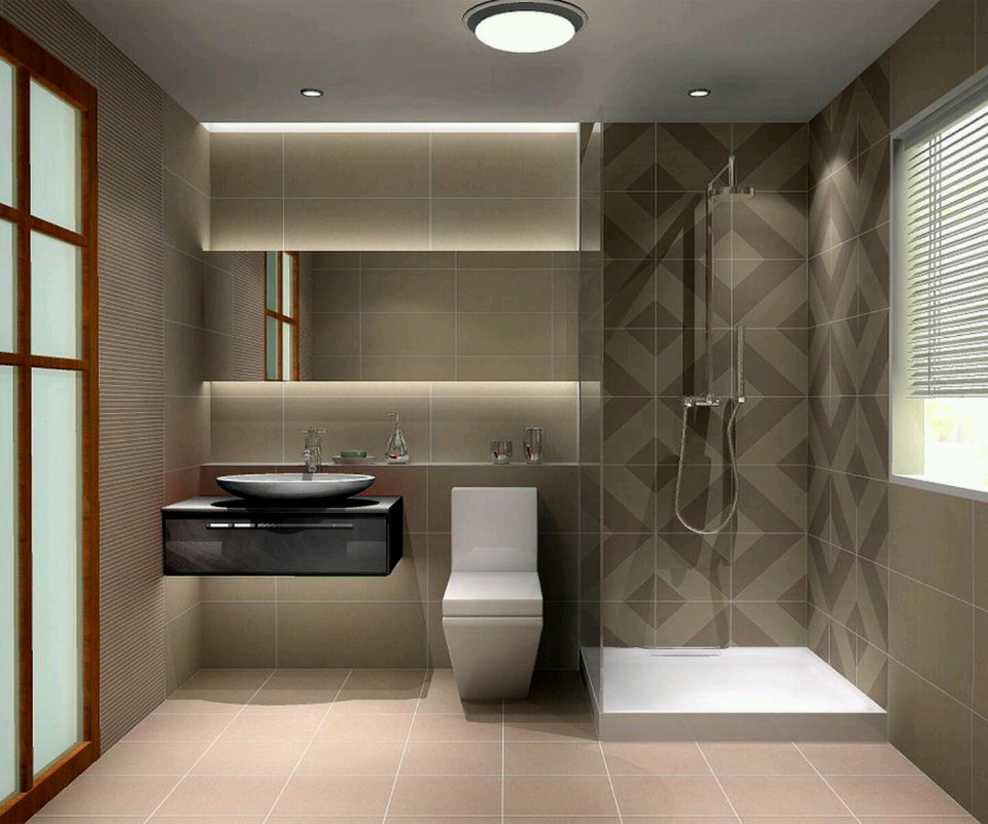 Best ideas about Modern Bathroom Ideas . Save or Pin Modern bathrooms designs pictures Furniture Gallery Now.
