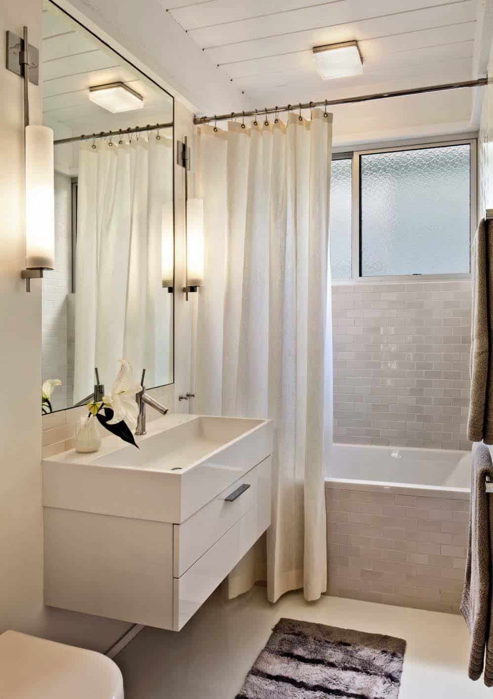 Best ideas about Modern Bathroom Ideas . Save or Pin 37 Amazing mid century modern bathrooms to soak your senses Now.