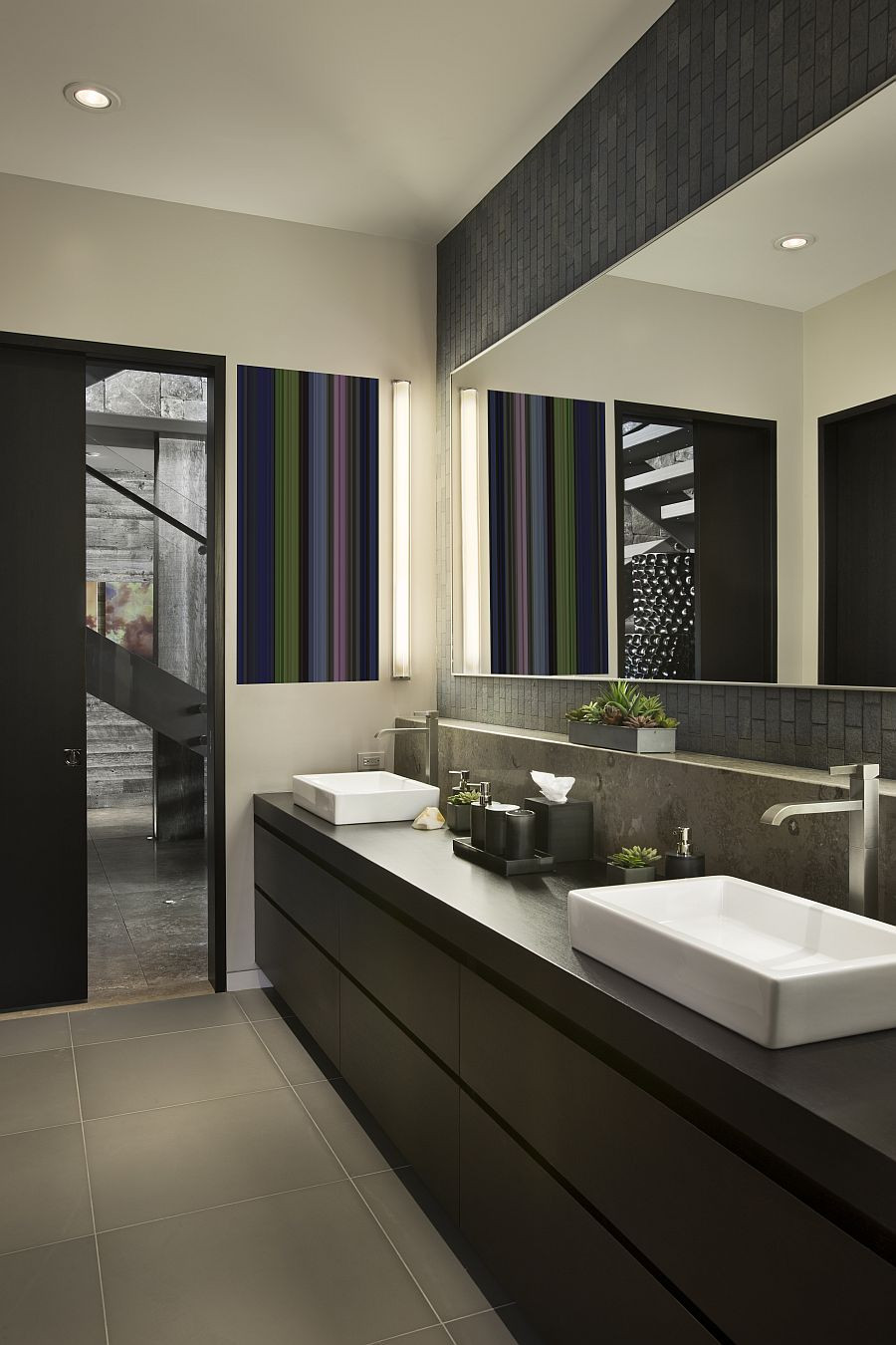 Best ideas about Modern Bathroom Ideas . Save or Pin Guest Bathroom Ideas with Pleasant Atmosphere Traba Homes Now.