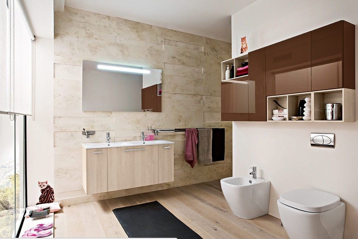Best ideas about Modern Bathroom Ideas . Save or Pin 50 Modern Bathrooms Now.