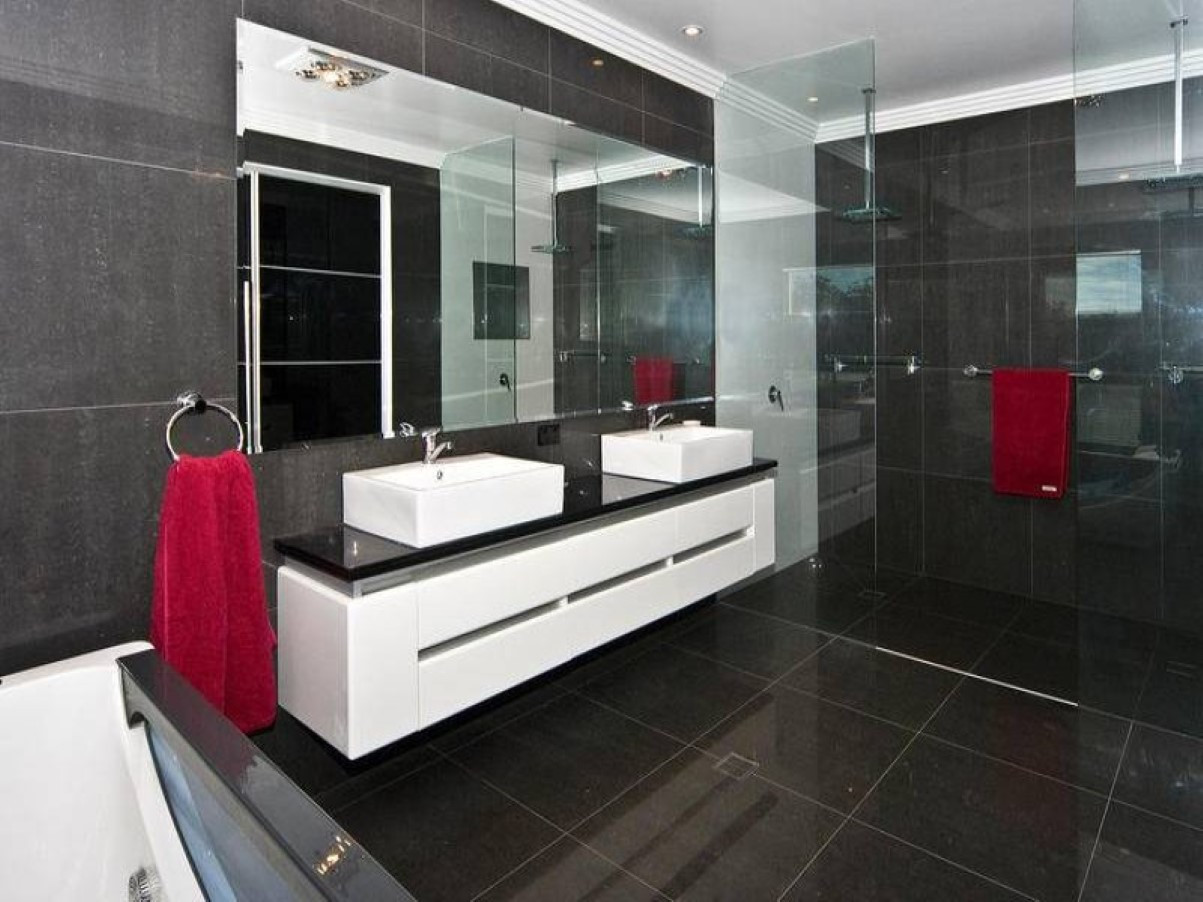 Best ideas about Modern Bathroom Ideas . Save or Pin 50 magnificent ultra modern bathroom tile ideas photos Now.
