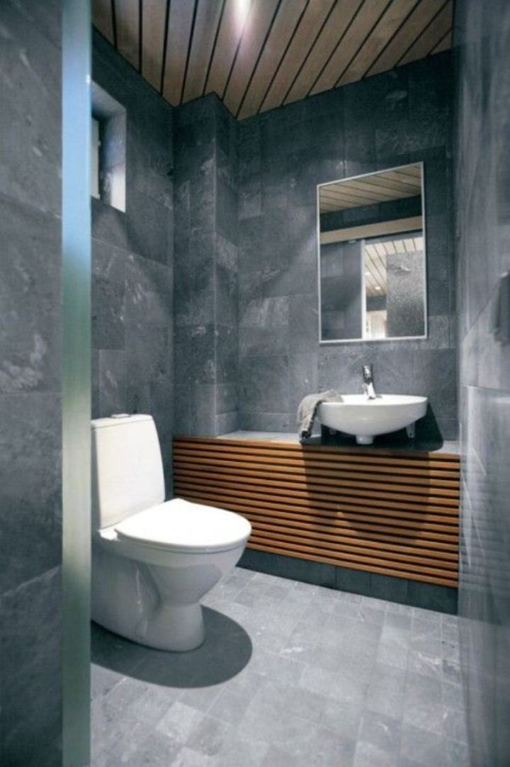 Best ideas about Modern Bathroom Ideas . Save or Pin 30 Small Modern Bathroom Ideas – Deshouse Now.