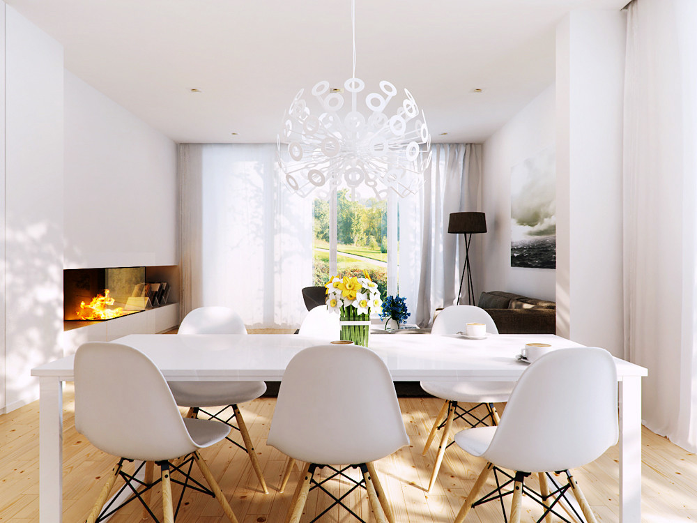 Best ideas about Modern Dining Room Chairs . Save or Pin Modern White Dining Chairs Advantages And Disadvantages Now.