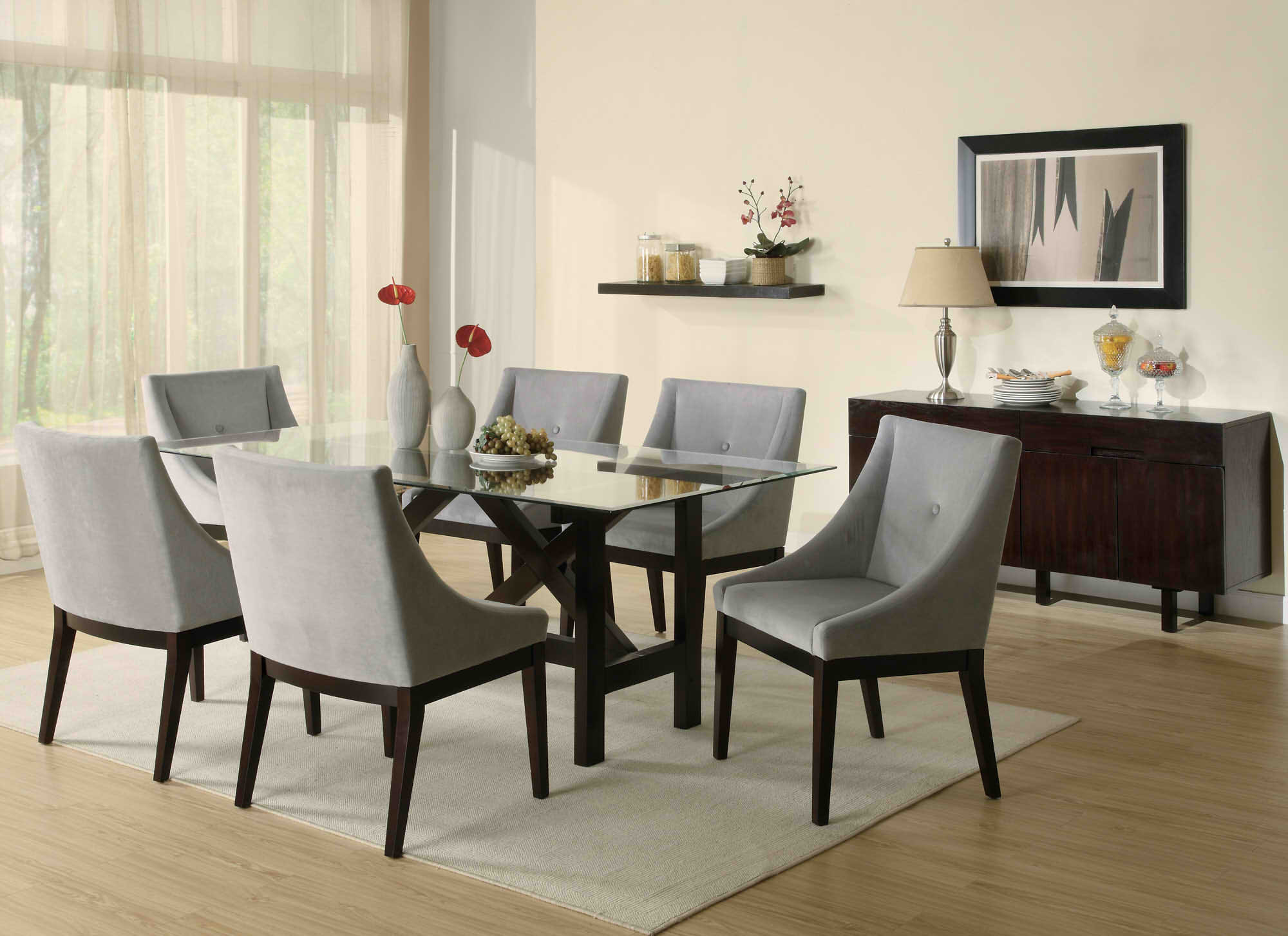 Best ideas about Modern Dining Room Chairs . Save or Pin Buying Modern Dining Sets Tips and Advices Traba Homes Now.