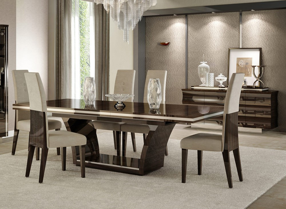 Best ideas about Modern Dining Room Chairs . Save or Pin Giorgio Italian Modern Dining Table Set Now.