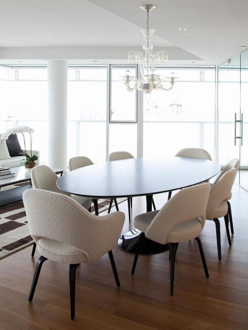 Best ideas about Modern Dining Room Chairs . Save or Pin 15 Astounding Oval Dining Tables for Your Modern Dining Room Now.