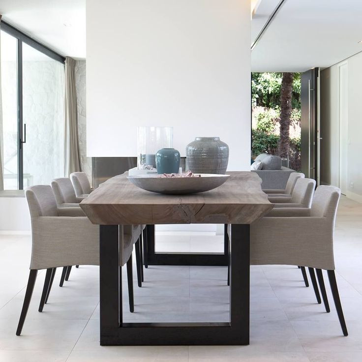 Best ideas about Modern Dining Room Chairs . Save or Pin Best 25 Contemporary dining table ideas on Pinterest Now.