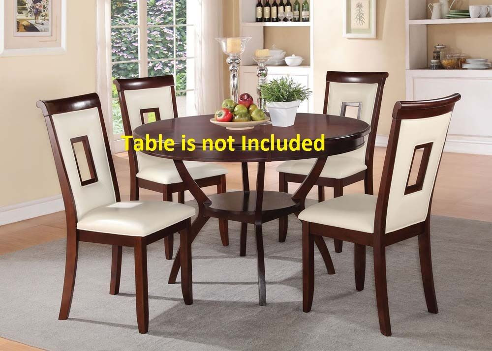 Best ideas about Modern Dining Room Chairs . Save or Pin Kitchen Dining room Modern Dining Chairs in Cherry Finish Now.