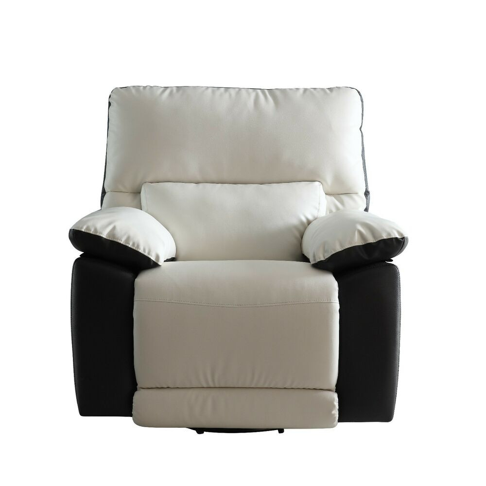Best ideas about Modern Recliner Chair . Save or Pin Modern Two Tone Bonded Leather Oversize Recliner Chair Now.