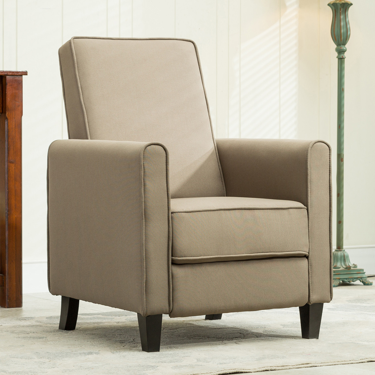 Best ideas about Modern Recliner Chair . Save or Pin Recliner Club Chair Living Room Home Modern Design Recline Now.