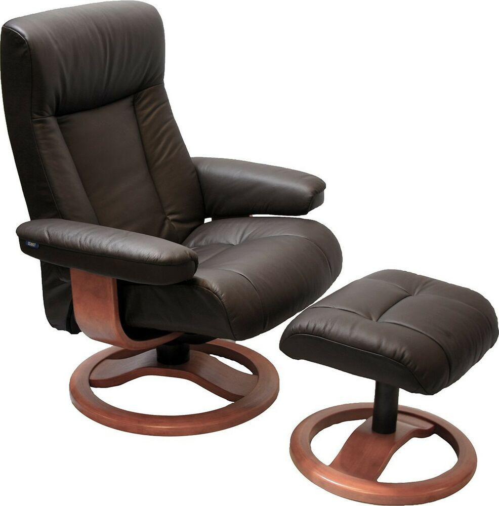 Best ideas about Modern Recliner Chair . Save or Pin Scandinavian ScanSit 110 Havana Leather Modern Ergonomic Now.