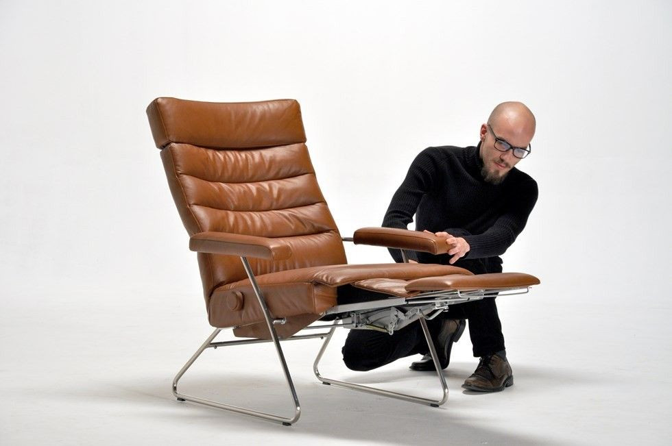 Best ideas about Modern Recliner Chair . Save or Pin Adele Recliner Chair By LAFER Modern Recliners Cressina Now.