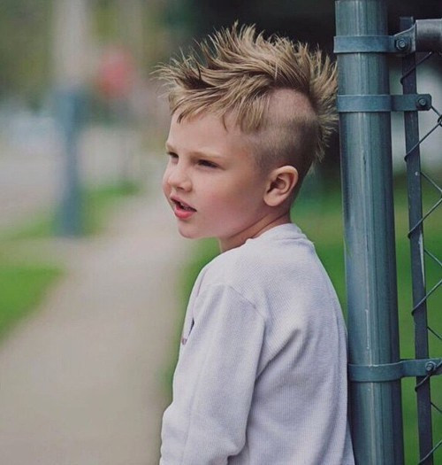 Best ideas about Mohawk Hairstyles For Kids . Save or Pin 20 Awesome and Edgy Mohawks for Kids Now.