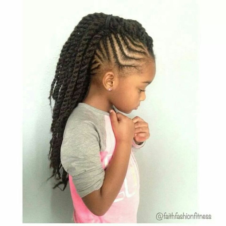 Best ideas about Mohawk Hairstyles For Kids . Save or Pin Braids with Twisted Mohawk Ponytail braids Now.