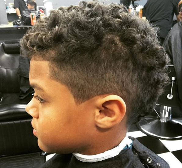 Best ideas about Mohawk Hairstyles For Kids . Save or Pin 65 Black Boys Haircuts 2018 MrkidsHaircuts Now.