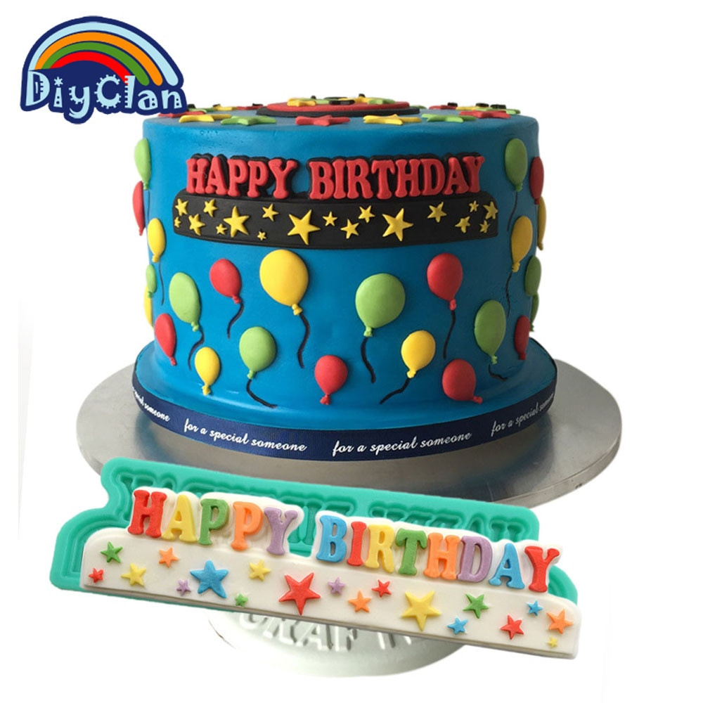Best ideas about Moldy Birthday Cake . Save or Pin Aliexpress Buy New Chocolate Mold Happy Birthday Now.