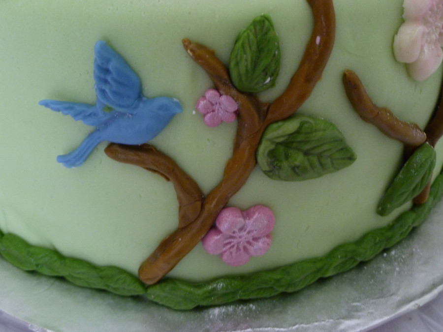 Best ideas about Moldy Birthday Cake . Save or Pin Birthday Cake Using Wilton Nature Mold CakeCentral Now.