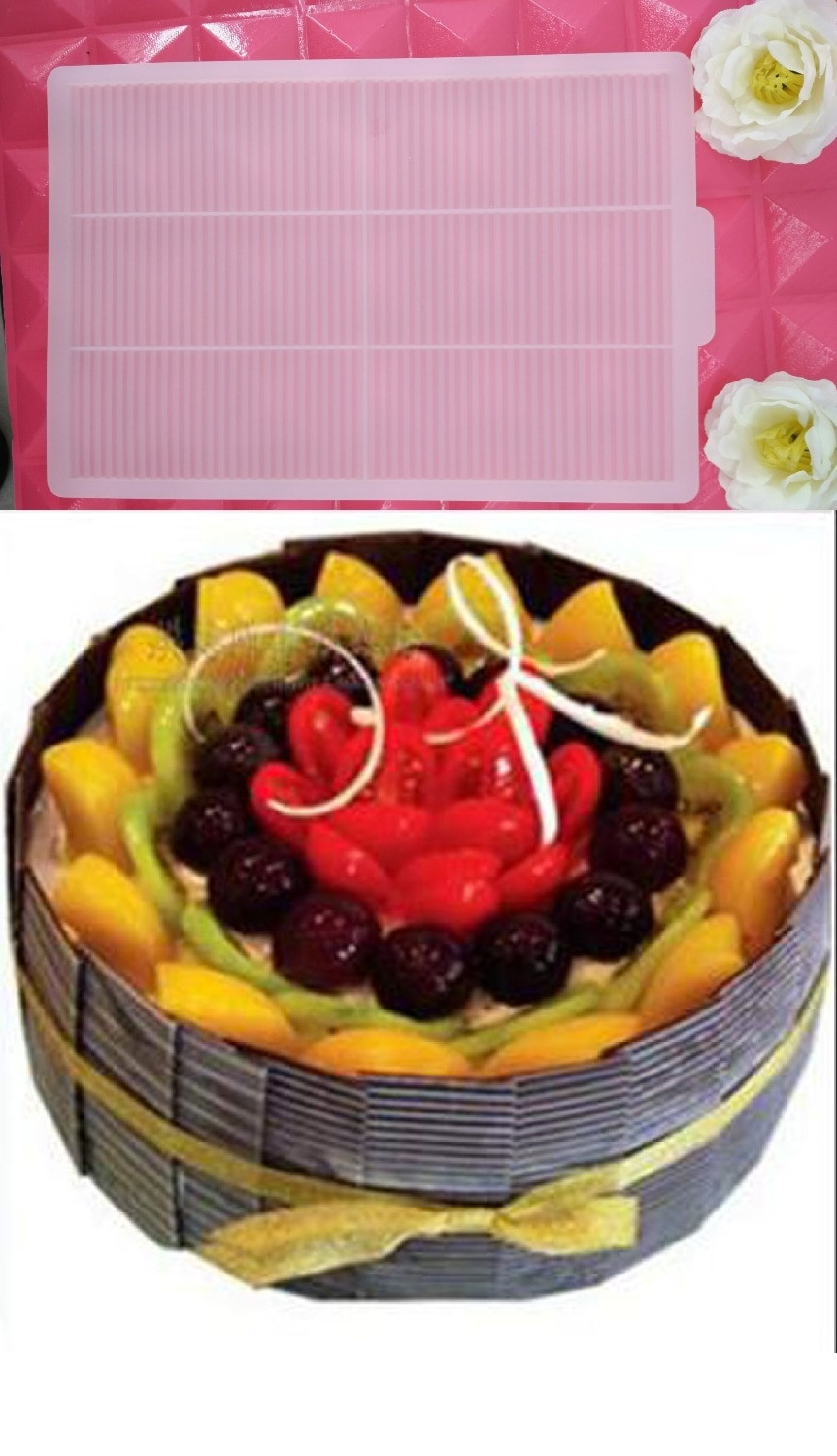 Best ideas about Moldy Birthday Cake . Save or Pin Silicone Chocolate Cake Mold 3D Strip Sugar Craft Mould Now.