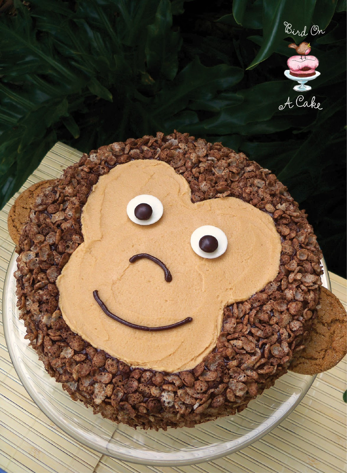 Best ideas about Monkey Birthday Cake . Save or Pin Bird A Cake Peanut Butter Chocolate Monkey Cake Now.