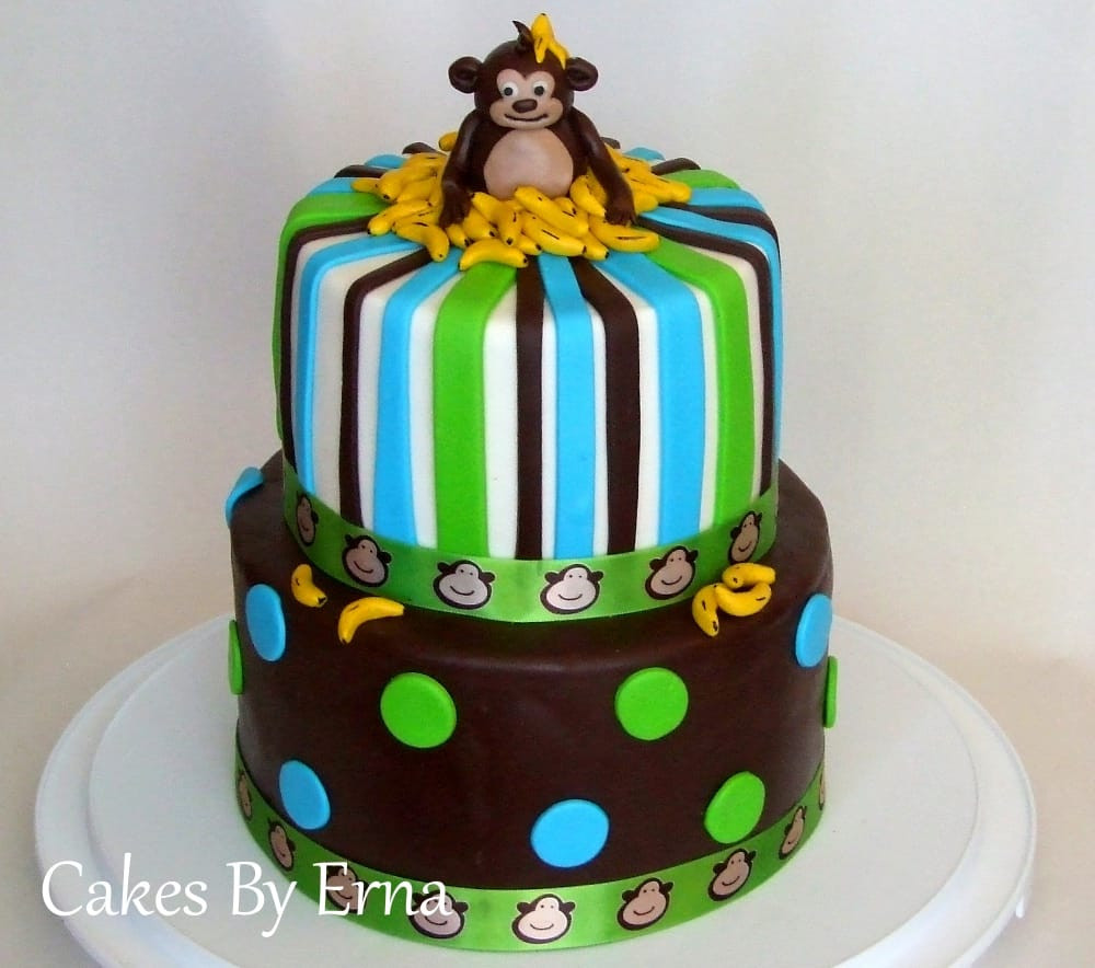 Best ideas about Monkey Birthday Cake . Save or Pin You ll go Banana s over this adorable Monkey Birthday Cake Now.