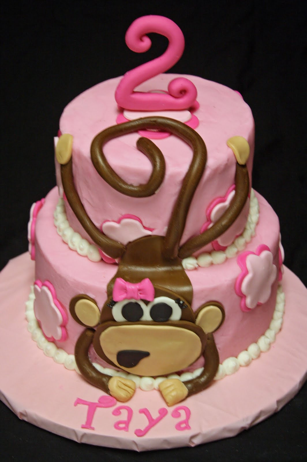 Best ideas about Monkey Birthday Cake . Save or Pin Monkey Cake Recipe — Dishmaps Now.