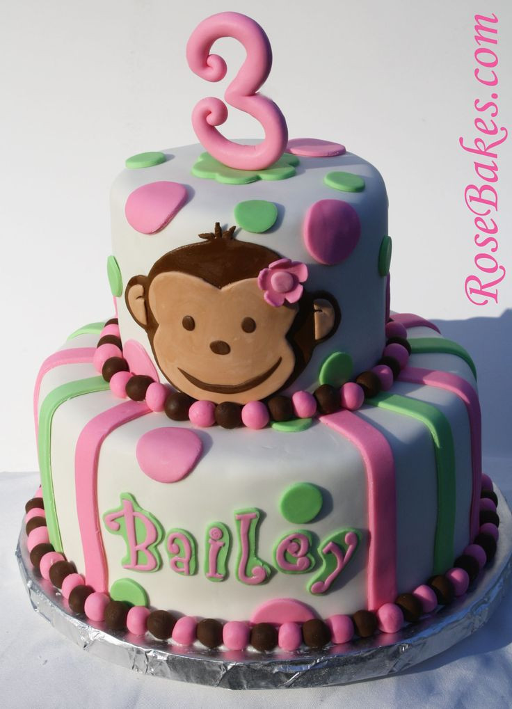 Best ideas about Monkey Birthday Cake . Save or Pin Best 20 Monkey birthday cakes ideas on Pinterest Now.