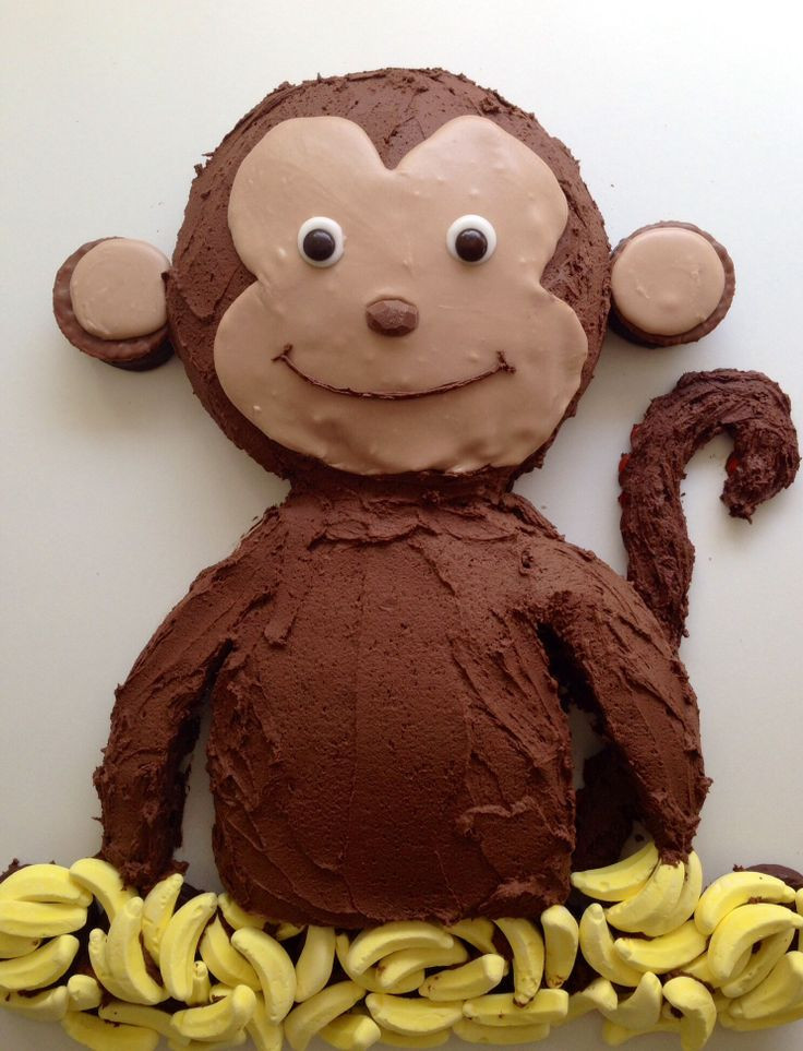 Best ideas about Monkey Birthday Cake . Save or Pin Best 25 Monkey cakes ideas on Pinterest Now.