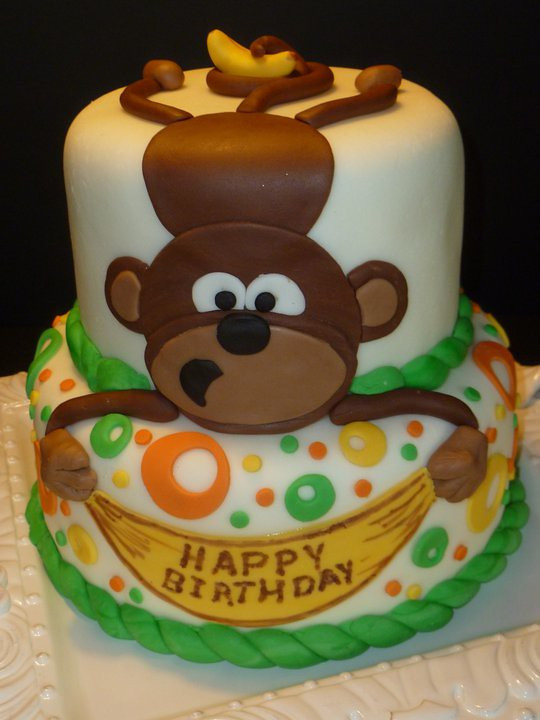 Best ideas about Monkey Birthday Cake . Save or Pin Monkey Cake by Yvonne C Twin Cities MN Now.