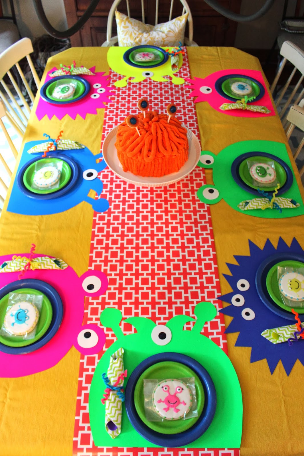 Best ideas about Monster Birthday Decorations . Save or Pin CREATE STUDIO A Neon Silly Monster Birthday Party Now.