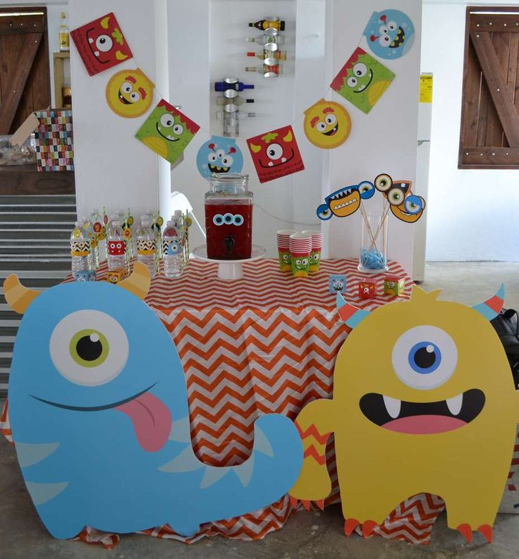 Best ideas about Monster Birthday Party Decorations . Save or Pin 17 Best ideas about Monster Decorations on Pinterest Now.