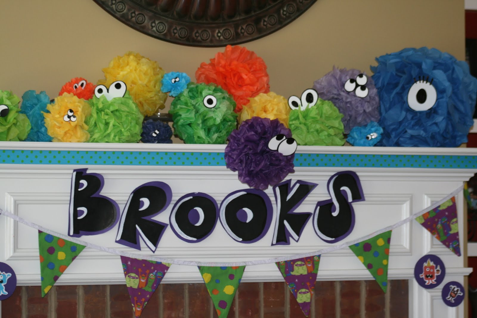 Best ideas about Monster Birthday Party Decorations . Save or Pin simple 2 silly Brooks 3rd Birthday Little Monster Theme Now.
