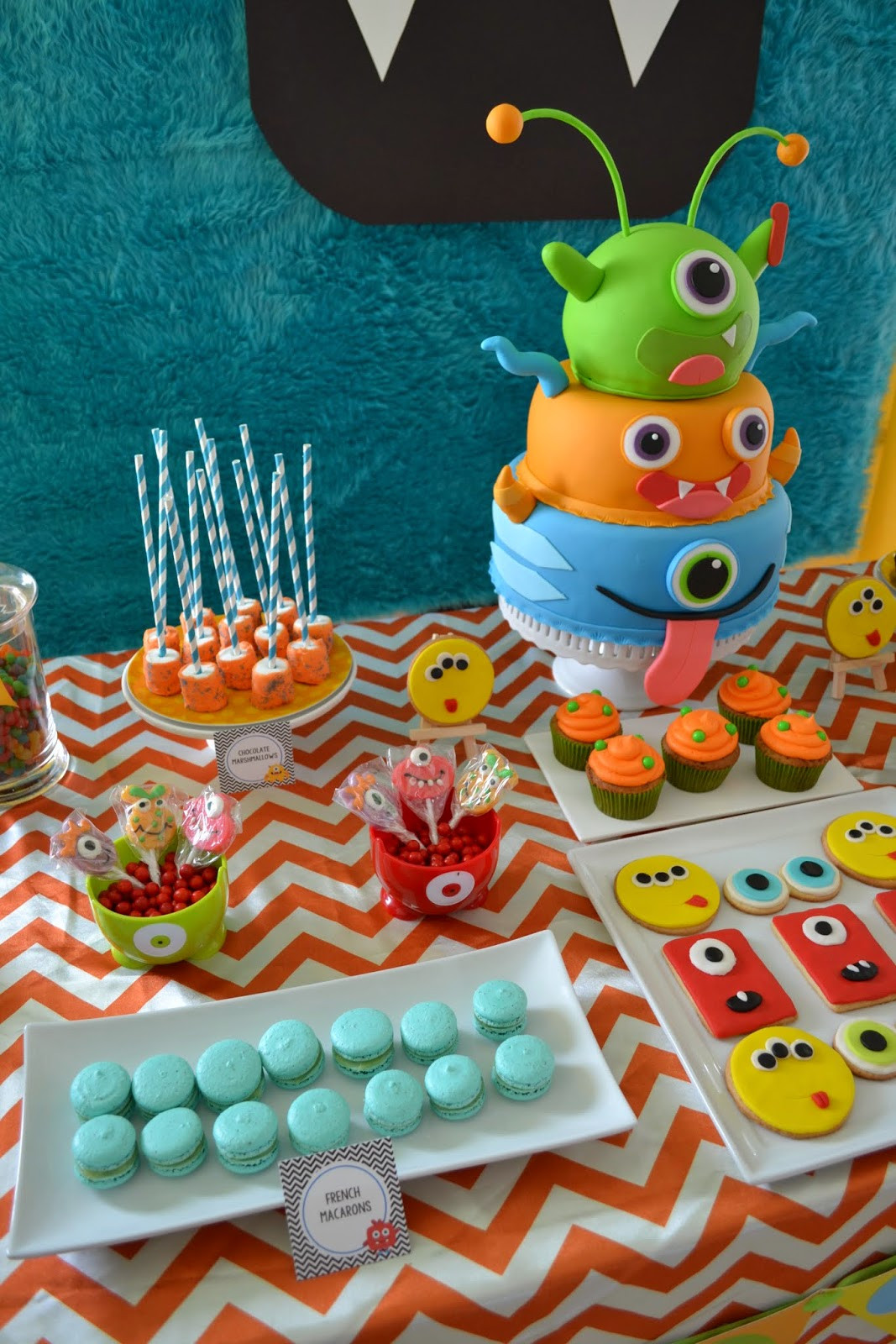 Best ideas about Monster Birthday Party Decorations . Save or Pin Partylicious Events PR Little Monster Birthday Bash Now.