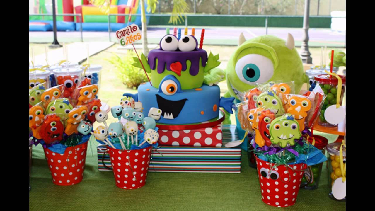Best ideas about Monster Birthday Party Decorations . Save or Pin Cool Monster birthday party themes Now.