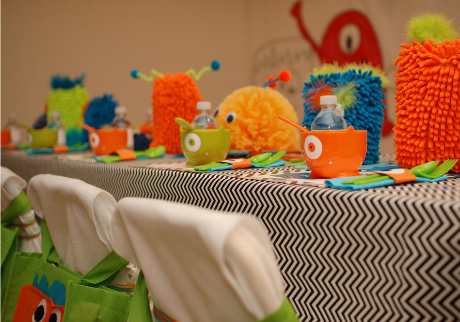 Best ideas about Monster Birthday Party Decorations . Save or Pin Little Monster Birthday Party Guest Feature Now.