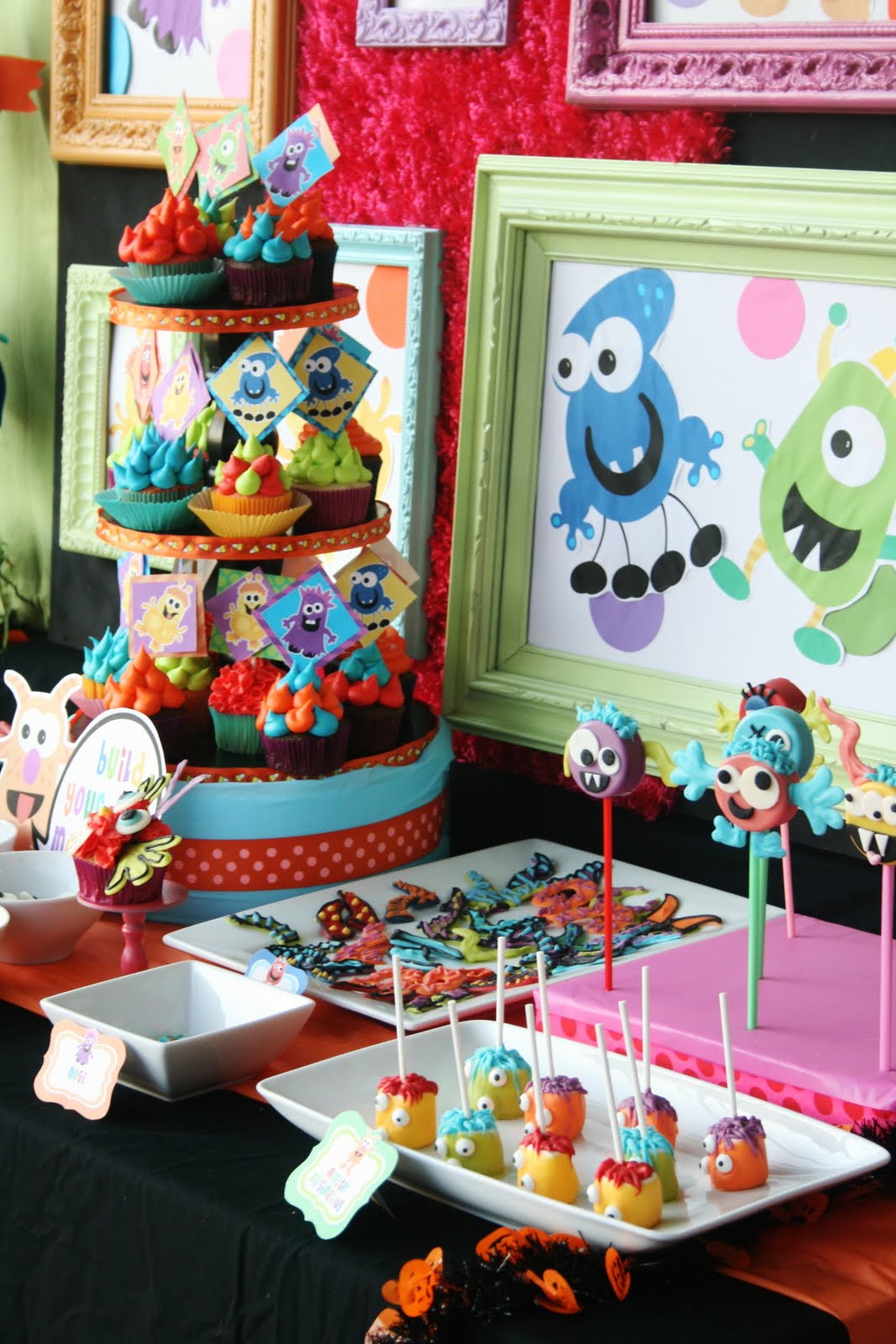 Best ideas about Monster Birthday Party Decorations . Save or Pin Kara s Party Ideas Colorful Monster Bash Party Now.