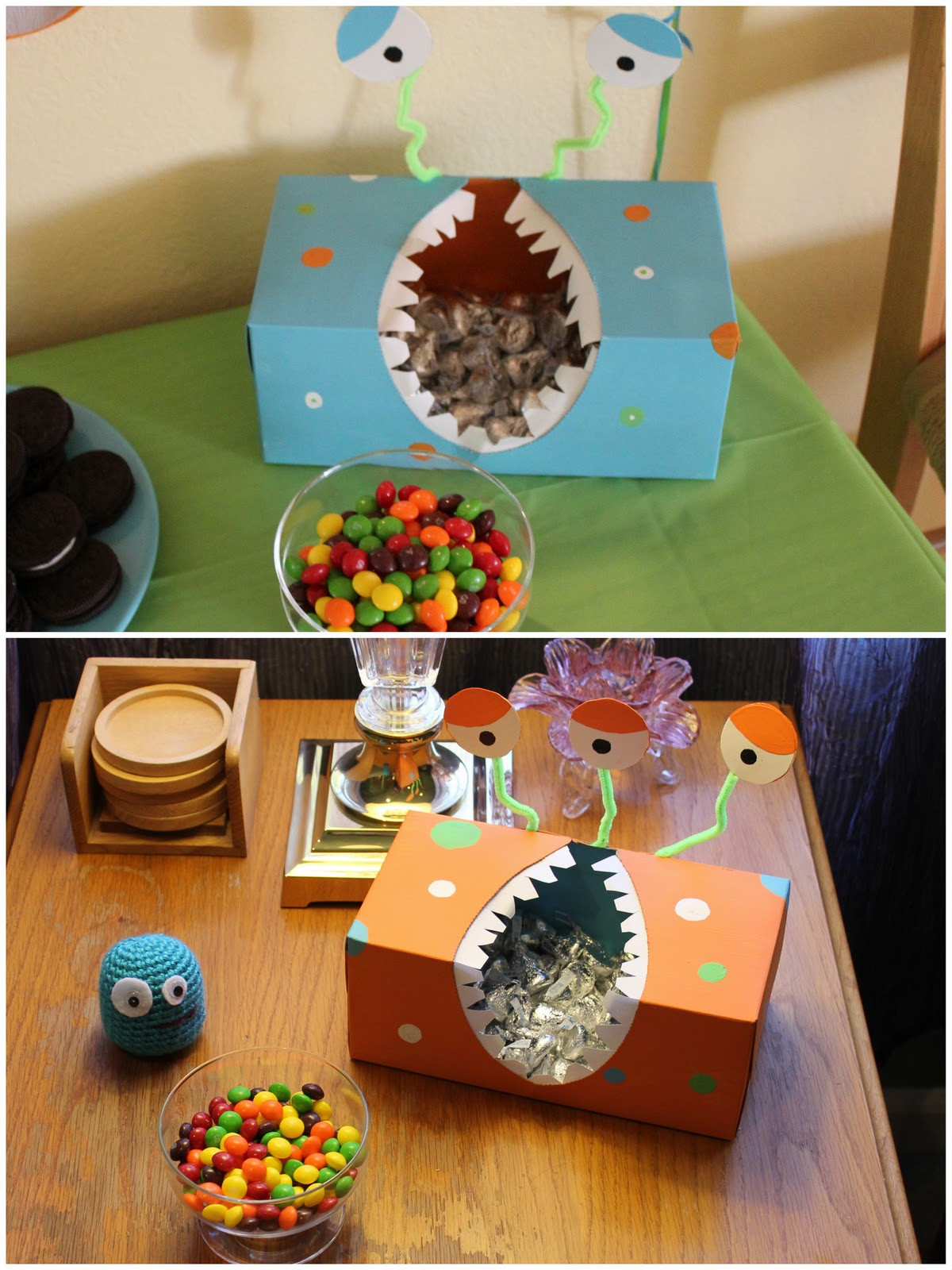 Best ideas about Monster Birthday Party Decorations . Save or Pin Then You Be e A Mom DIY Monster Birthday Party Now.