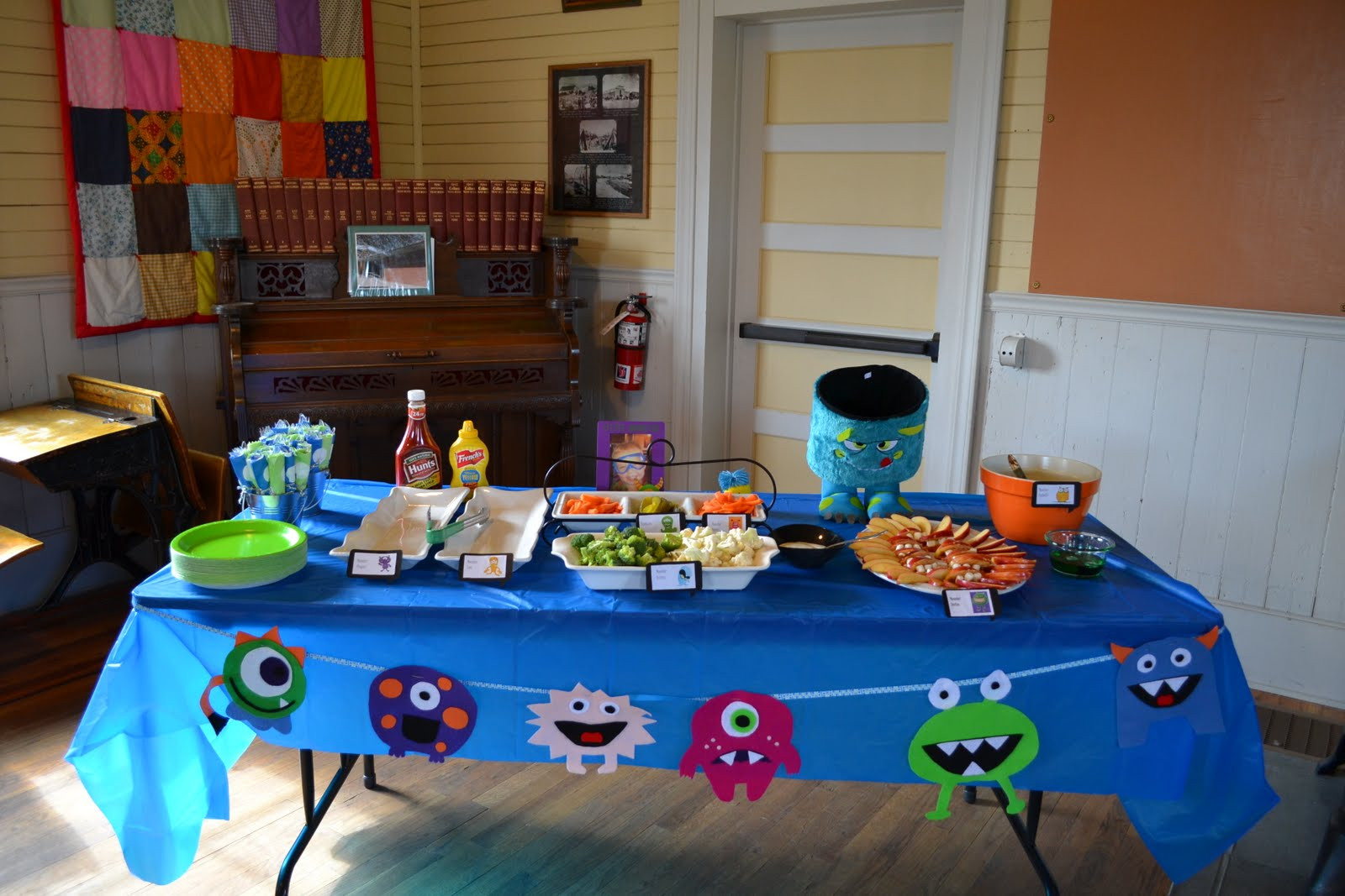 Best ideas about Monster Birthday Party Decorations . Save or Pin Nifty Thrifty & Thriving Monster Birthday Party Now.