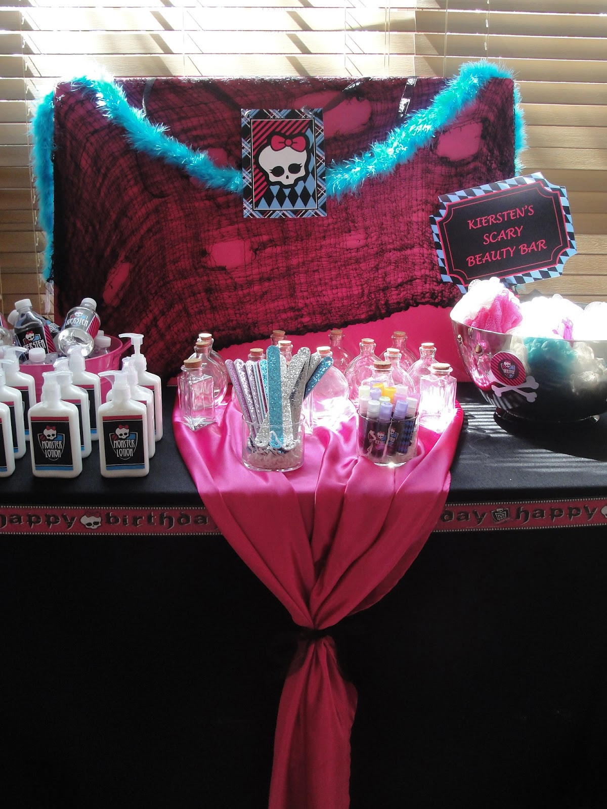 Best ideas about Monster High Birthday Decorations . Save or Pin My Party Dreamz Monster licious Spa Party Now.