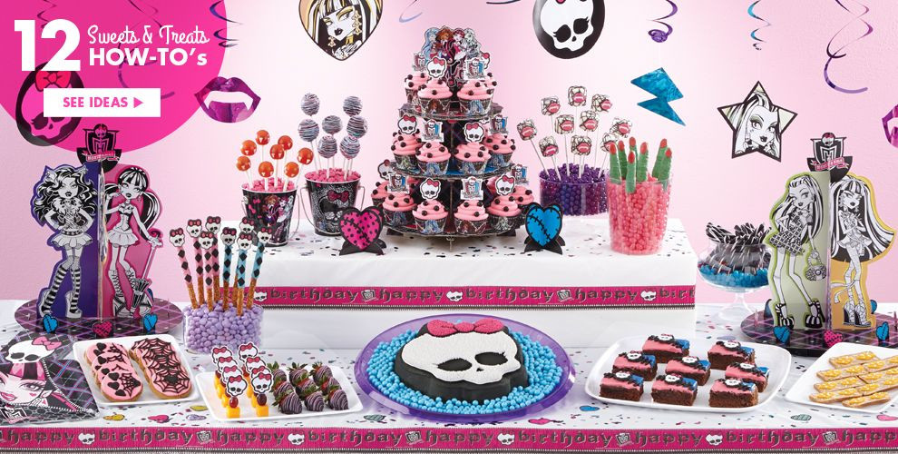 Best ideas about Monster High Birthday Decorations . Save or Pin Monster High Party Supplies Monster High Birthday Ideas Now.