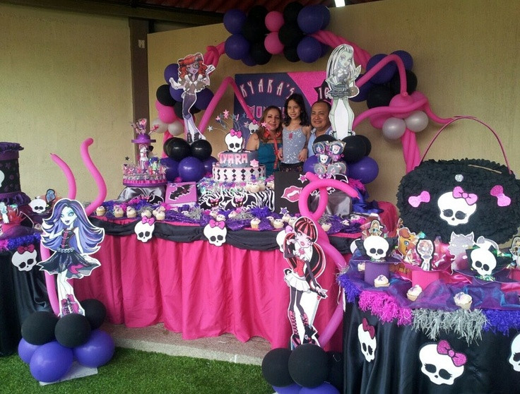 Best ideas about Monster High Birthday Decorations . Save or Pin 49 best Monster high party images on Pinterest Now.