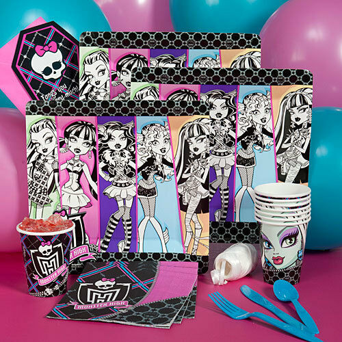 Best ideas about Monster High Birthday Decorations . Save or Pin MONSTER HIGH Birthday PARTY Supplies plates cups napkins Now.