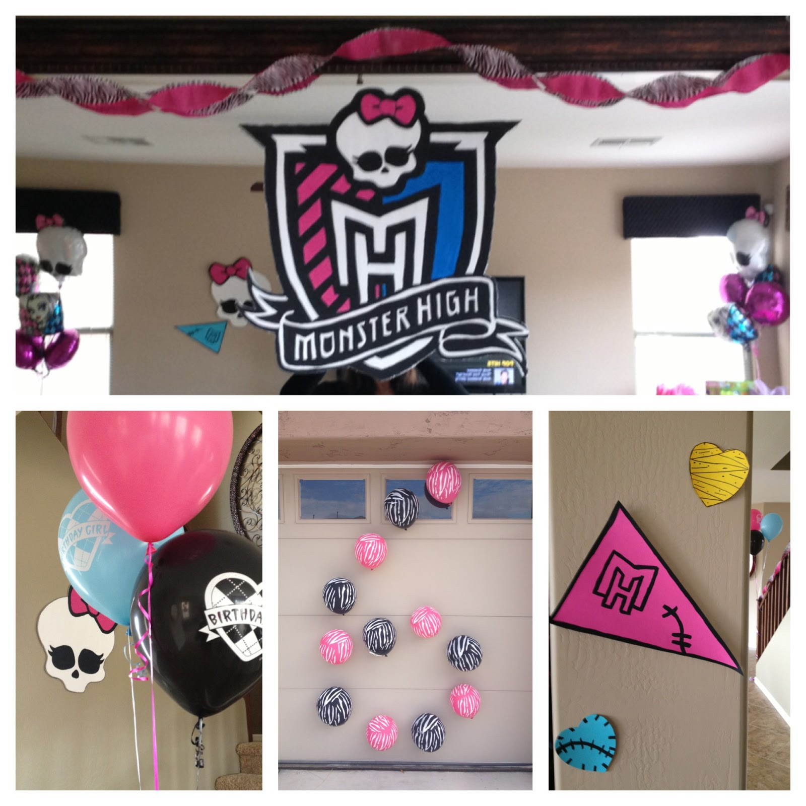 Best ideas about Monster High Birthday Decorations . Save or Pin The Busy Broad Monster High Party Decorations Now.