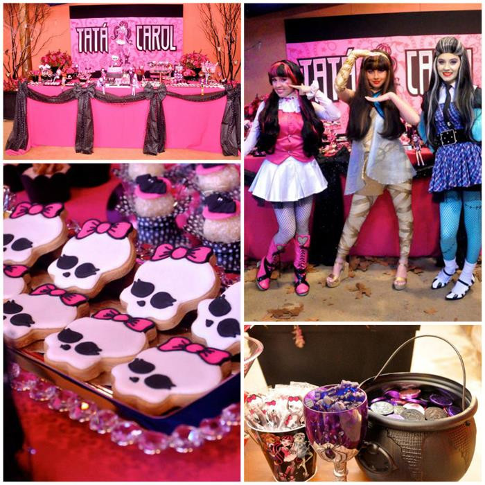 Best ideas about Monster High Birthday Decorations . Save or Pin Kara s Party Ideas Monster High Party Planning Ideas Now.